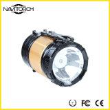 Dubbele het Kamperen van het Herladen van het Gebruik Draagbare Lichte ZonneLantaarn (nk-165)