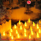 Luz eléctrica de la vela del mini color al aire libre seguro LED