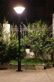 Luz solar ahorro de energía del jardín para la iluminación del césped