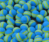 Bille molle d'EVA de golf de Pgm de pratique en matière de bille de bille multicolore d'intérieur d'éponge