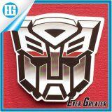 Etiqueta engomada brillante de la etiqueta del vinilo de la decoración de la insignia de Autobot de los transformadores