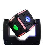 10W RGBW 4in1 Osram LEDの立方体のヘッド60Wを移動する移動ヘッド軽いピンぞろ