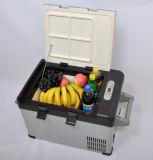 Миниый холодильник 25liter DC12/24V компрессора DC с переходникой AC (100-240V) для автомобиля, яхты, шлюпки, офиса, пользы дома