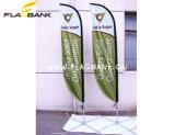 Bandierina di alluminio e della vetroresina di 100% esterno della piuma/bandierina di spiaggia