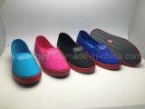 Ботинки холстины способа для женщин (MST161093)