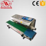 Máquina contínua da selagem do auto saco elétrico do impulso com impressão para o nylon do papel de vidro, película plástica de papel de embalagem De folha de alumínio de BOPP