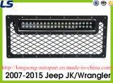 Gril ouvert de treillis métallique de type d'E-Pouvoir avec l'éclairage LED pour l'altercation Jk de jeep