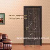 Furnier-Blatttür, zusammengesetzte hölzerne Tür, Plastikprofil