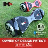 Scooter de équilibrage de Patend 8 d'usine de pouce 2 d'individu sec en gros de roue avec le haut-parleur duel de Bluetooth avec UL2272