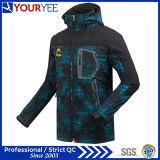 Пальто куртки Outdoors допустимый водоустойчивой куртки Softshell холодное (YRK113)