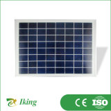 男性および女性ポートが付いている10W16V太陽電池パネル