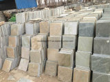 Ardósia oxidada, telhas, pedra cultural, parede, assoalho, telhas do Paver