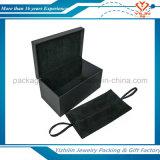 Contenitore di regalo di legno di colore nero all'ingrosso per monili o il regalo