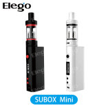 Mini 4.5ml Subtank mini atomizador de Kanger Subox con el mini E-Cigarrillo de la batería de Subox