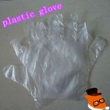 Mit hoher Schreibdichte Plastikhandhandschuh