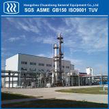 液体窒素の生産工場の空気分離の単位