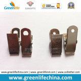 Grampo W/Strap do metal de Dulldog da necessidade do suporte de cartão do diodo emissor de luz da cinta do colhedor