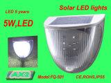 Luz infrarroja del sensor LED de la energía solar