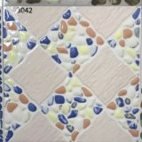 Il materiale da costruzione smerigliatrice le mattonelle di pavimentazione di ceramica rustiche di sembrare di pietra variopinto