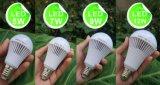 bulbo recarregável do diodo emissor de luz da emergência 7W com bateria alternativa E27 B22
