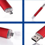 OTG USB para Smartphone e PC Thumb Pendrive Memory Stick