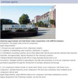 Compressor van de Lucht van de Schroef van Zuid-Afrika van de uitvoer de Directe Gedreven met Asme- Certificaat