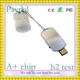 고속 USB 드라이브 금속 로고 (GC-M455)