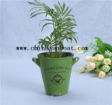 Mini vase à usine de décoration de bureau d'émail