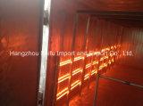 Four infrarouge électrique d'enduit de poudre avec le tube électrique de chauffage