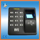 Controle de acesso da impressão digital para o comparecimento