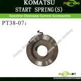 La motosega del 3800 di KOMATSU parte la sorgente del dispositivo d'avviamento