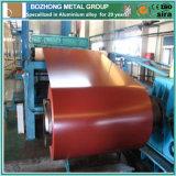 Bobina de alumínio revestida de cor quente