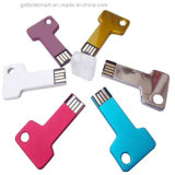Цвета Key Shaped USB металла Momery Стик для подарка