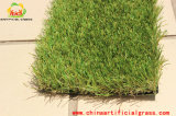 4개의 색깔 PE 실내 장식 합성 잔디 뗏장