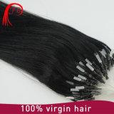 Extensões não processadas de venda quentes do cabelo do anel X do emaranhado livre micro