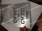 Marca del laser del grabado del nombre de la entrerrosca del bebé de la placa conocida