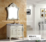 Vanità moderna del Governo dello specchio della stanza da bagno del PVC di alta qualità dell'Europa