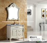 Meuble de salle de bain en miroir de salle de bains en PVC moderne de haute qualité