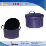 Малое Leather Wine Basket Carrier (2209R1)