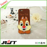 Tampa animal do telefone do silicone do caso do iPhone 6 do projeto (RJT-0117)