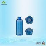 frascos cosméticos plásticos da forma bem parecida da flor 100ml para o empacotamento do perfume