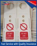 OEM中国の卸し売りプラスチック足場札のホールダー