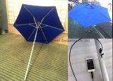 2016 [سلر بوور] مظلة مع [سلر بنل] [رشرجر] شمسيّة [سون ومبرلّا] قضيب مظلة [02ب-7]