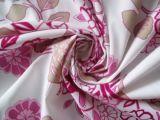 Polyester 100% gedrucktes Rohseide-Gewebe für Umhüllungen und Kleid-Kleidung