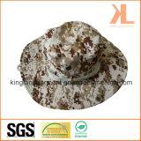 El verano imprimió los sombreros verdes olivas del compartimiento del camuflaje del pescador/del ejército con la red