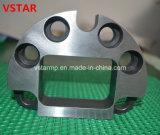 CNC, der Soem-Präzisions-maschinell bearbeitende Stahlteile durch Drehen-Maschine maschinell bearbeitet