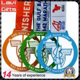 3D Medaille van de Sport van de Douane van het Metaal van de Bevordering Geen MinimumOrde