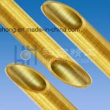 Tube d'ailette avec l'ailette en aluminium pour l'échangeur de chaleur, tube de condensateur, tube de faisceau d'alliage de cuivre, acier inoxydable, tube de cuivre, tube de plissement
