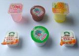 Copo da máquina de embalagem da indústria alimentar mini que dá forma ao equipamento de enchimento da selagem