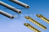 Flosse-Gefäß mit Aluminiumflosse für Wärmetauscher, Kondensator-Gefäß, Kupferlegierung-Kern-Gefäß, Edelstahl, kupfernes Gefäß, Furchung-Gefäß